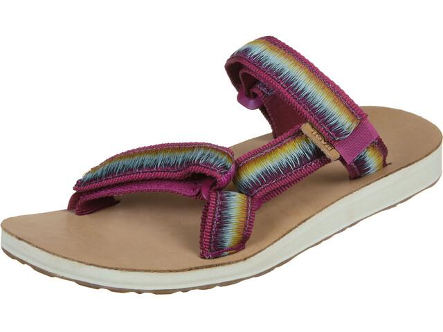 Teva Universal Slide Ombre Sandals Women sangria